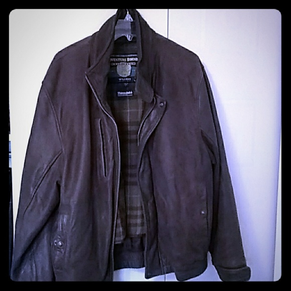 Wilsons Leather Other - Wilson Adventure bound leather jacket & a gift